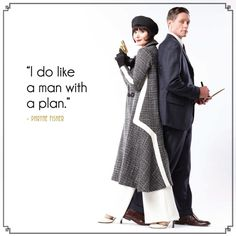 Miss Fisher's Murder Mysteries - I love this show!  Murder mysteries & the 1920's, yay!