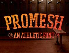 Font of the day: Promesh