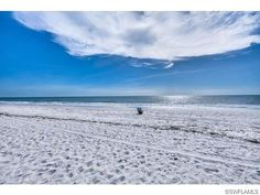The beach in Park Shore - Naples on the Gulf of Mexico