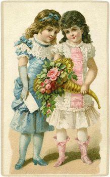 Little Victorian Girls (104 pieces)