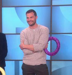 Jamie Dornan on Ellen
