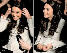 Kate visiting the set of Downton Abbey today, March 12, 2015. Wearing Jojo Maman Bebe coat.