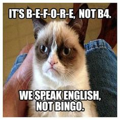 Haha, nice one grumpy cat :-) #GrumpyCat