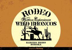 Free Wild West Vector Background