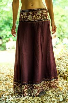 Envolver falda larga falda gitana, falda Tribal, gitano ropa, ropa Funky, Hippie, hadas, bohemio, danza falda, falda de algodón, un tamaño