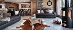 ski chalet facilities to make you feel snug