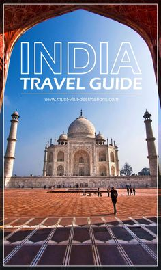 India Travel Guide - Must Visit Destinations An awesome travel guide to help plan your trip to India. India Travel Guide, Asia Travel, Backpacking India, Wanderlust, India Culture, India Tour, Future Travel, Travel Guides, Travel Tips