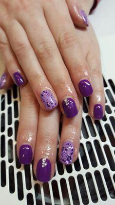 Purple haze gel Polish