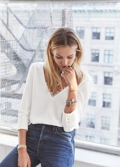 Blouse Adèle- 7 days in New York  www.sezane.com  #sezane #bonjournewyork #rendezvousle17septembre