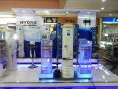 Tampilan baru counter HYDRO Filter Penjernih Air Di Mangga Dua Mall.