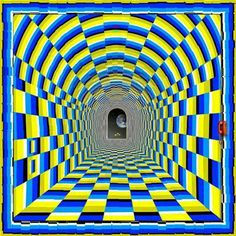 Take a look at this amazing Tunnel Vision Optical Illusion illusion. Browse and enjoy our huge collection of optical illusions and mind-bending images and videos. Optical Illusions Pictures, Illusion Pictures, Illusion Kunst, Illusion Art, Op Art, Image Pinterest, Foto 3d, Illusion Paintings, Mandala