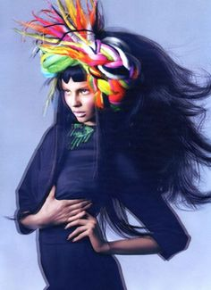 Magdalena Frackowiak for Vogue Nippon October-2008