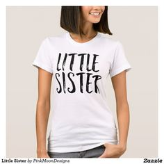 fd04ac25 Little Sister Little Sisters, Grey Colors, Girls Wardrobe, V Neck, T Shirts
