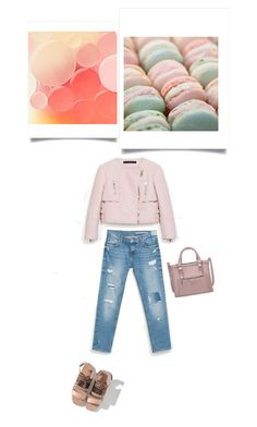 """SOFT"" by stephanie-nina ❤ liked on Polyvore featuring Zara"