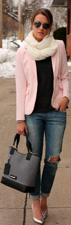 #Winter #Pastels by Penny Pincher Fashion