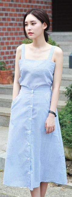 Korean Fashion – How to Dress up Korean Style – Designer Fashion Tips Korean Fashion Trends, Korea Fashion, Kpop Fashion, Cute Fashion, Asian Fashion, Daily Fashion, Girl Fashion, Womens Fashion, Style Outfits