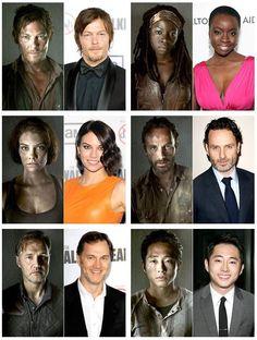 The Walking Dead cast members #thewalkingdead
