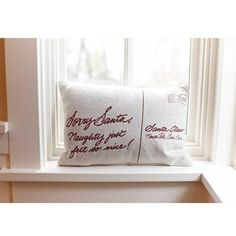Letters to Santa Christmas Pillow                                                                                                                                                      Mehr
