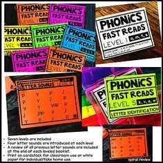 Phonics Fast Reads: Letter Sounds