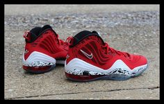 """Nike Air Penny V """"Red eagle"""""""