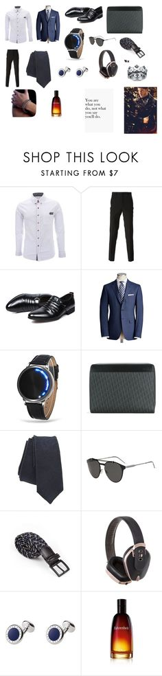 """""""Dean Royal"""" by shriquinn ❤ liked on Polyvore featuring Givenchy, Christian Dior, Pryma, men's fashion and menswear"""