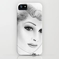 I Love Lucy Lucille Ball iPhone Case
