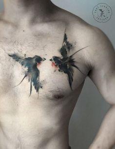 Red-Crowned Crane Tattoo Watercolor Rose Tattoo Gorgeous Fox Tattoo Ink Wash Tattoo on Leg Watercolor Poppies Tattoo Flower Tattoo on Back Daffodil Tattoo on Bicep Raven Tattoo on Chest Abstract Smoke Tattoo Watercolor Swallows Tattoo Daffodil Tattoo, Flower Tattoo Back, Back Tattoo, Chest Tattoo, Star Tattoos, Leg Tattoos, Body Art Tattoos, Sleeve Tattoos, Tattos