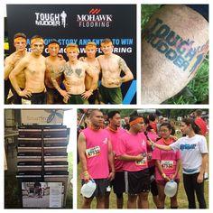 The Tough Mudder Challenge was the opportunity for participants to have 30 seconds of fame and talk on behalf of the Wounded Warrior Project.