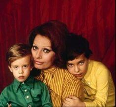 Luscious Sophia - mylusciouslife.com -  - Sophia Loren and sons
