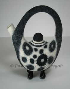 Current Gallery of Pamela A. MacGregor many tea pots lots to see