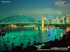 Sydney Flights from India, Hotels Booking in Sydney, Australia Tours. capital of New South Wales and one of Australia's largest cities, is best known for its harbour-front Sydney Opera House, with a distinctive sail-like design. Beautiful Places To Visit, Oh The Places You'll Go, Places To Travel, Amazing Places, Australia Tourism, Sydney Australia, Dream Vacations, Vacation Spots, Vacation Packages