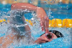 Missy Franklin of the USA competes during the Swimming Women's 200m Freestyle Semifinal 2 on day eleven of the 15th FINA World Championships at Palau Sant Jordi on July 30, 2013 in Barcelona, Spain.