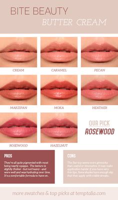 Bite Beauty Butter Cream Lipsticks Overview & Thoughts