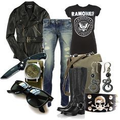 rocker chic style - Google-Suche