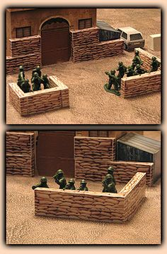 Combat Storm - Plastic Army Men Wargame - Downloads & Papercraft Tutorials