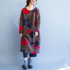 Long cotton Dress - Buykud