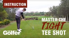 How to hit a tight tee shot with driver: Dan Whittaker tips - Tee One Up Golf It Field, Golf Drivers, To Reach, Play Golf, Distance, How To Find Out, Target, Shots
