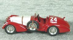Alfa Romeo 412 Spyder Touring - Winner G.P. Svizzera 1950 #24 - Daetwyler- Alfa Model 43