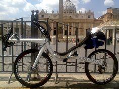 recumbent bicycle Slyway endorphin 650 disc (Rome)