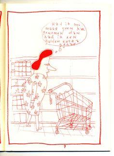 Drawing by Jeroen de Leijer for zine 'De Bedenkelijk Kijkende Grondeekhoorn'.  #risograph #Extrapool #Knust