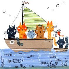 Visual Artist and Creative Encourager. Baby Helmet, Cat Doodle, Paper Owls, Creative Artwork, Animal Sketches, Children's Book Illustration, Illustration Animals, Whimsical Art, Best Artist