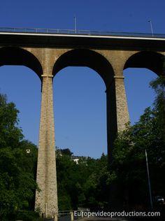 Passerelle in Luxemburg-Stadt