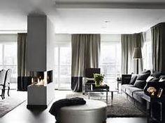 Grey Interior Classic Living Space