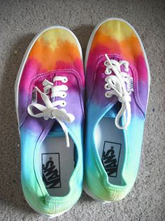 Colourful Vans Shoes - these are awesome