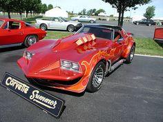 Corvette Stingray from the 1978 movie Corvette Summer Corvette Summer, Classic Corvette, Cool Old Cars, Chevrolet Corvette Stingray, Unique Cars, Us Cars, Car Pictures, Car Pics, Custom Cars
