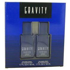 GRAVITY by Coty Gift Set -- Two 1.7 oz Cologne Sprays (Men)