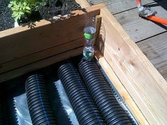 Easy To Make Sub-irrigated Raised Beds And Planter Boxes