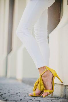 Gorgeous white jeans