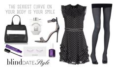 Blind Date Style by istyled on Polyvore featuring polyvore, fashion, style, Marc by Marc Jacobs, ZOHARA, Givenchy, shu uemura, Viktor & Rolf, Essie, women's clothing, women's fashion, women, female, woman, misses and juniors