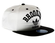 flat brim hats for girls | Adidas Brooklyn Nets Flat Brim Mens Snapback Hat [NQ19ZEKK-BBNETS] - $ ...